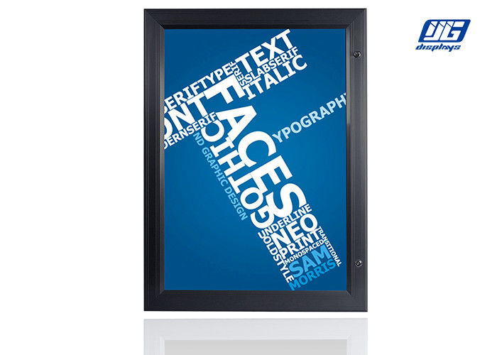 Aluminum Frame Lockable Light Box A0 High Brightness Advertising Poster Holder